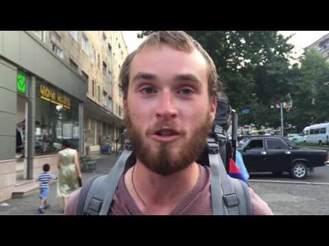 Գերմանացի ճանապարհորդ Եան Գլայնը՝ Արցախում. տեսանյութ