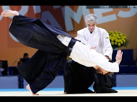 Aikido Team Led by Bruno Gonzalez, 5th Dan, France - SportAccord World Combat Games 2013