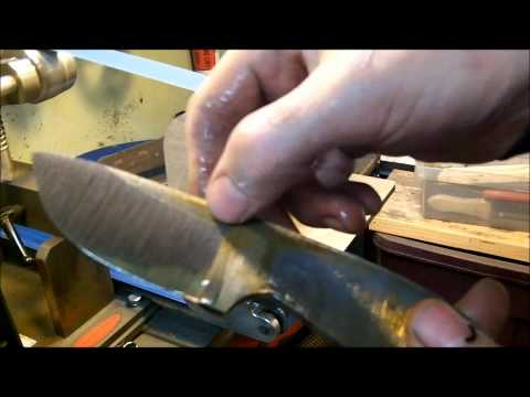 Knife Making Tutorial- How to FLAT GRIND A Knife (30 min Tutorial)