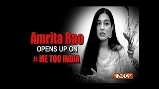 #MeToo Movement: Amrita Rao says no individual should be forced to do something out of consent - INDIATV