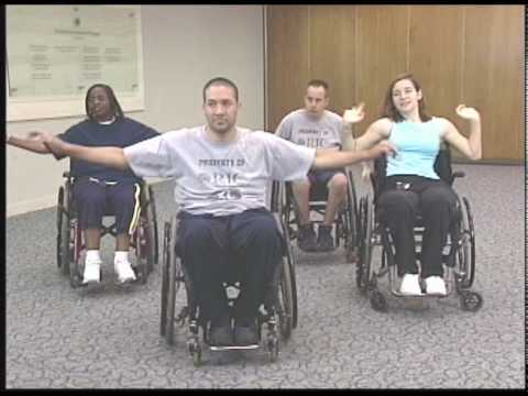 Spinal Cord Injury Aerobic Workout: Tetraplegia