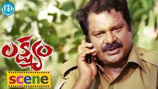 Lakshyam Movie Scenes || Anushka, Gopichand Kills Police Officer Scene - IDREAMMOVIES
