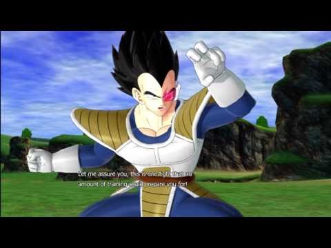 Dragonball Z Raging Blast 2 - Goku &amp; Raditz VS Vegeta &amp; Tarble