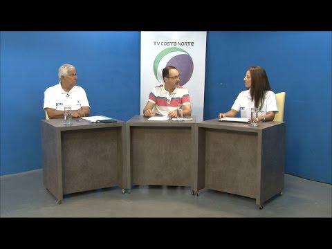 TV Costa Norte - Ações da SETEC de Bertioga é tema do Sala de Imprensa