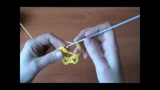 Вязание крючком: Бабушкин квадрат