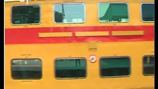 Double Deckar Train Makes Trial Run In Mahabbub Nagar Station - ETV2INDIA