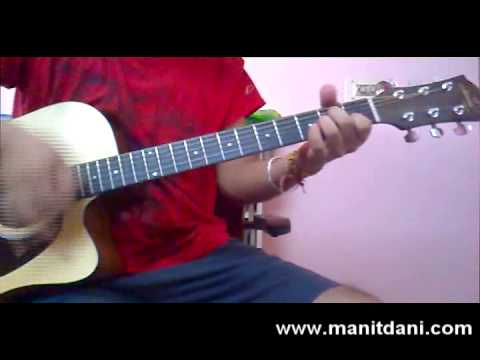 learn TUM HO (ROCKSTAR) on guitar