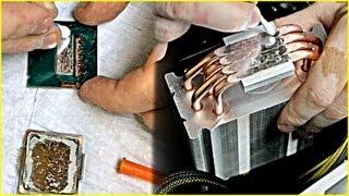 замена термопасты на жидкий металл