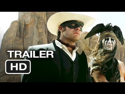 The Lone Ranger Official Trailer #1 (2012) - Johnny Depp Movie HD
