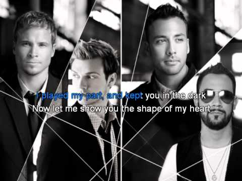 Backstreet Boys - Shape of my heart Karaoke -1Dh4U7xsDME