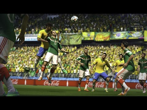 FIFA World Cup Brasil 2014 PS3 Gameplay (HD) Austria vs. USA