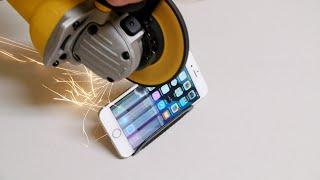 إستراحة التقنية بلس: تجربة جنونية جديدة.. محاولة شق هاتف آي فون 6 الى نصفين