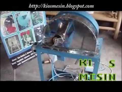 mesin perajang keripik kentang dan singkong
