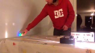 Laserlysets bølgelængde rapport