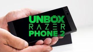 Razer Phone 2 unboxing - CNETTV