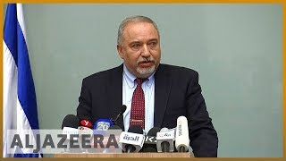 🇮🇱Israeli Defence Minister Avigdor Lieberman quits over Gaza truce | Al Jazeera English - ALJAZEERAENGLISH