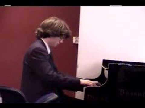 Ryan MacEvoy McCullough playing Chopin Mazurka