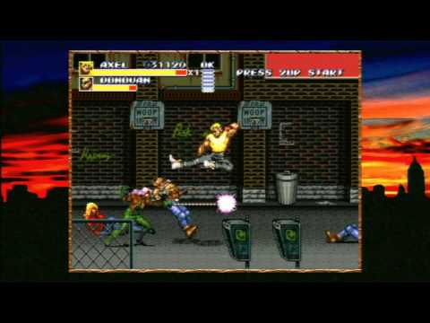 Classic Game Room HD - STREETS OF RAGE 3 for Sega Genesis