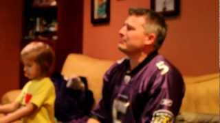 Ridiculous: Grown Ravens Fan Goes Crazy During Baltimore-Denver Game Screaming And Crying Like A Baby