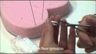 Керамическая флористика fleur - Урок 1 (часть 1).wmv
