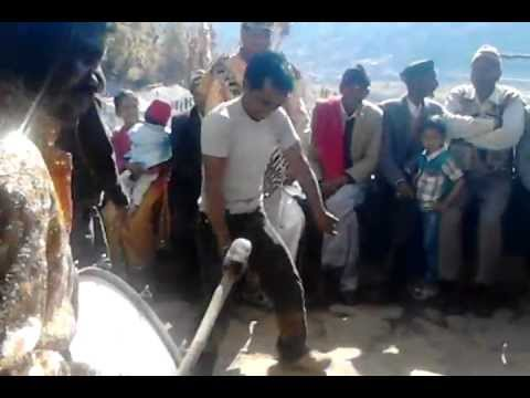 Channu dancing Kumaoni shadi dance 15 JAN 2013