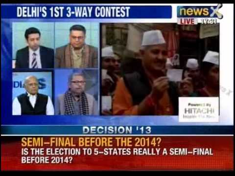 Assembly Election 2013: Exit polls surprises the country, part 2 - NewsX