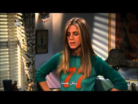 مقطع مضحك من مسلسل friends (ركضة فيبي )مترجم - صوت وصوره لايف