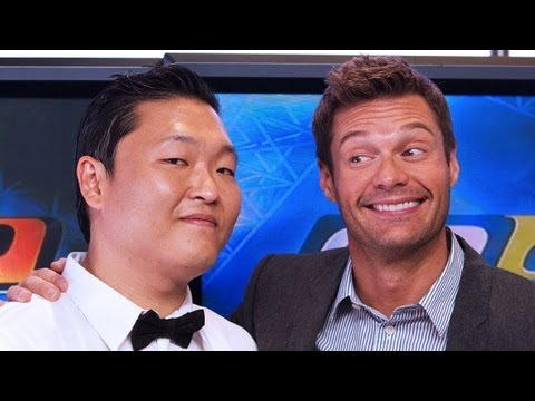 PSY Talks Gangnam Style with Seacrest - PART 1 | Interview | On Air With Ryan Seacrest
