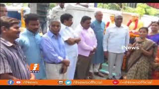 CPI Narayana Inaugurate Chennaboina Kamalamma Appanna Statue In Warangal | iNews - INEWS