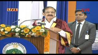 Quality of education in medical colleges is life blood - Venkaiah Naidu | Tamil Nadu | CVR News - CVRNEWSOFFICIAL