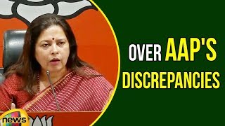 Meenakshi Lekhi Over AAP's Discrepancies in the Party's Contribution Report Unveiled | Mango News - MANGONEWS