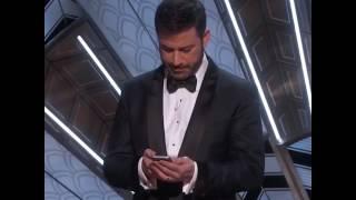 Jimmy Kimmel Tweets to President Trump | Oscars 2017 - ABCNEWS