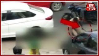 Gurugram गोली कांड में जज की पत्नी की मौत, बच्चे की हालत नाज़ुक ! - AAJTAKTV