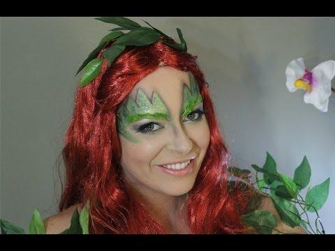 Ivy Poison maquillaje/ Ivy Poison makeup Batman