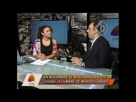 """Entrevista al Intendente José Corral - Programa """"Arriba Santa Fe"""""""