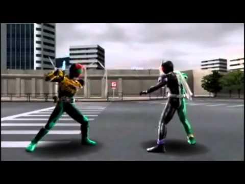 Kamen Rider Climax Heroes OOO(PSP) - Opening