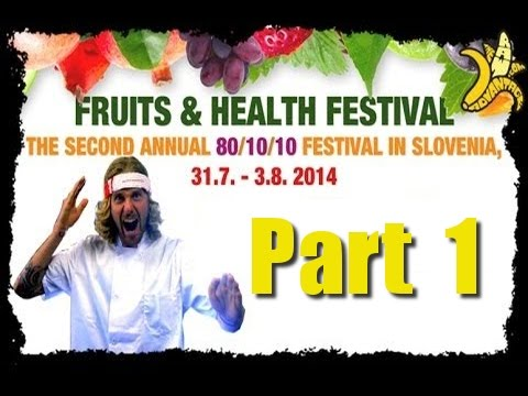 Slovenia Fruits & Health Festival, Part 1 Behind the Scenes