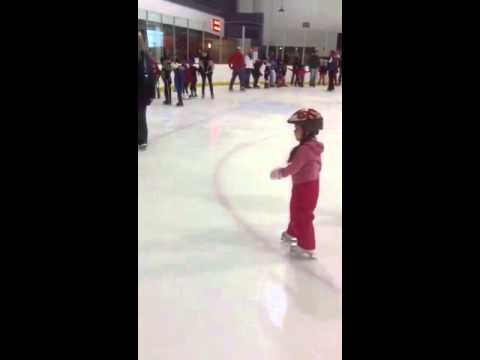 Sonechka ice skating
