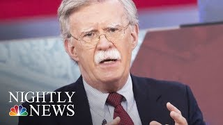 President Trump Replaces McMaster With John Bolton As National Security Advisor | NBC Nightly News - NBCNEWS
