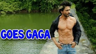 Shahrukh Khan goes gaga about his abs | Bollywood News