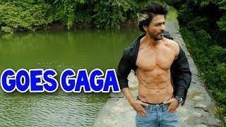 Shahrukh Khan goes gaga about his abs | Bollywood News