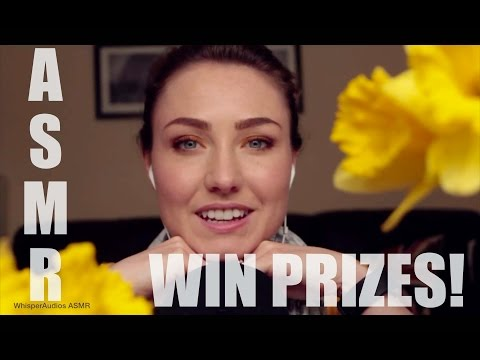 ASMR - SUBSCRIBER CONTEST! WIN PROPS! + April 2017 Monthly Favs