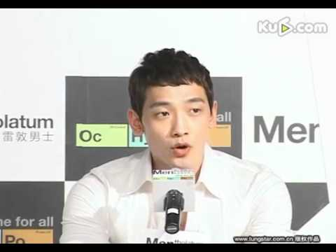 [Rain (Bi) News]110413 Tungstar_Rain @ Mentholatum Press Con in Shanghai