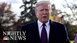 President Trump Reportedly Asked DOJ To Prosecute Hillary Clinton, James Comey | NBC Nightly News - NBCNEWS