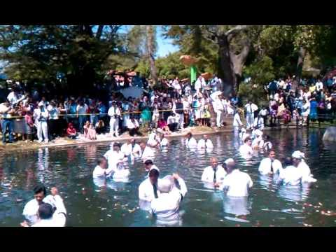 Iglesia de Dios (israelita) bautizos en Morelos
