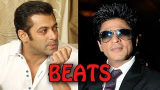 Salman Khan beats Shahrukh Khan in the race! | Bollywood News
