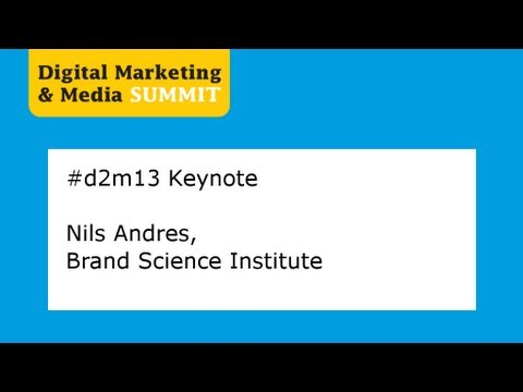 #d2m13 Keynotes: Nils Andres, Brand Science Institut