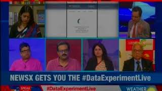 NewsX gets you the Data experiment live; original 'Cambridge Analytica' - NEWSXLIVE