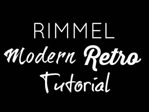 Makeup Look: Modern Retro featuring ONLY Rimmel Products