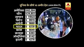 Master Stroke: India ranks 6th on the list of 10 rich countries but fails to pay MGNREGA w - ABPNEWSTV
